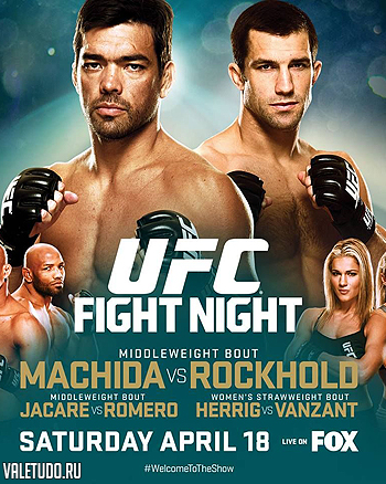 ufc on fox 15 poster